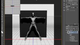 кАК СДЕЛАТЬ 3D ЭФФЕКТ В Photoshop CS6?/ СОЗДАНИЕ ЭФФЕКТА 3D