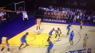 NBA 2K15 GAMEPLAY LEAKED| Historic Lakers Gameplay Leaked Nba 2k15