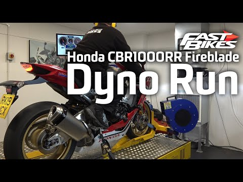 2019 Honda CBR1000RR Fireblade | Dyno Run | Ultimate Sports Bike