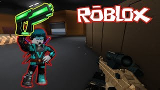 MY FIRST TIME IN A SHOOTER ? ROBLOX