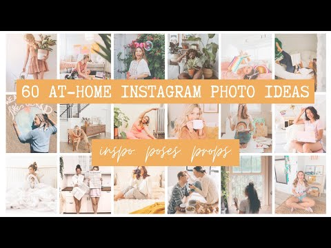 60 At Home Instagram Photo Ideas Inspiration Poses Props More Youtube