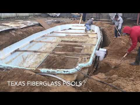 Fiberglass Pool Resurfacing in Austin Texas