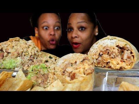 Chipotle Mexican Food Mukbang