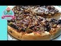 Kıymalı Pizza - Bol Sebzeli - Kekevi Piza Tarifleri