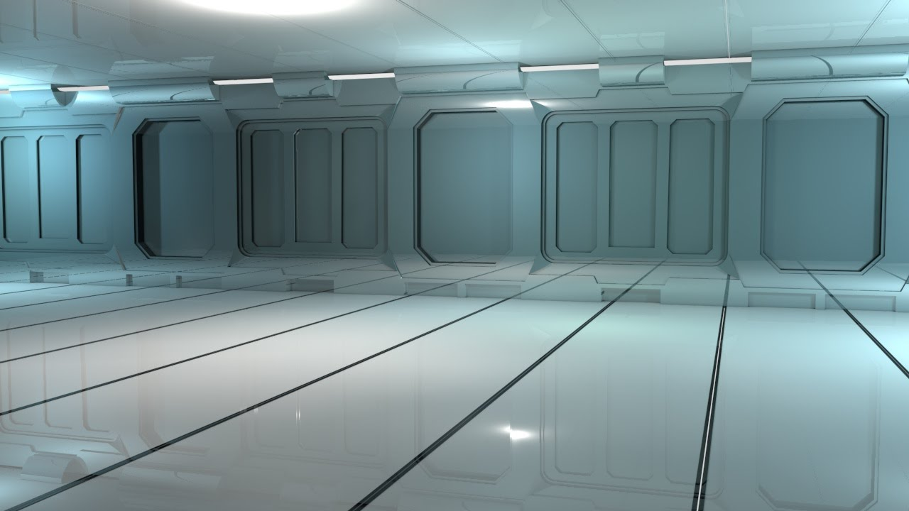 Part 1 How To Make A Sci Fi Wall Room In Cinema 4d