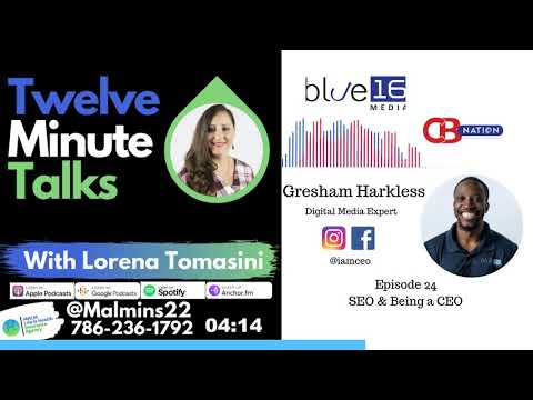 SEO and Being a CEO with Gresham Harkless from Ceoblog Nation