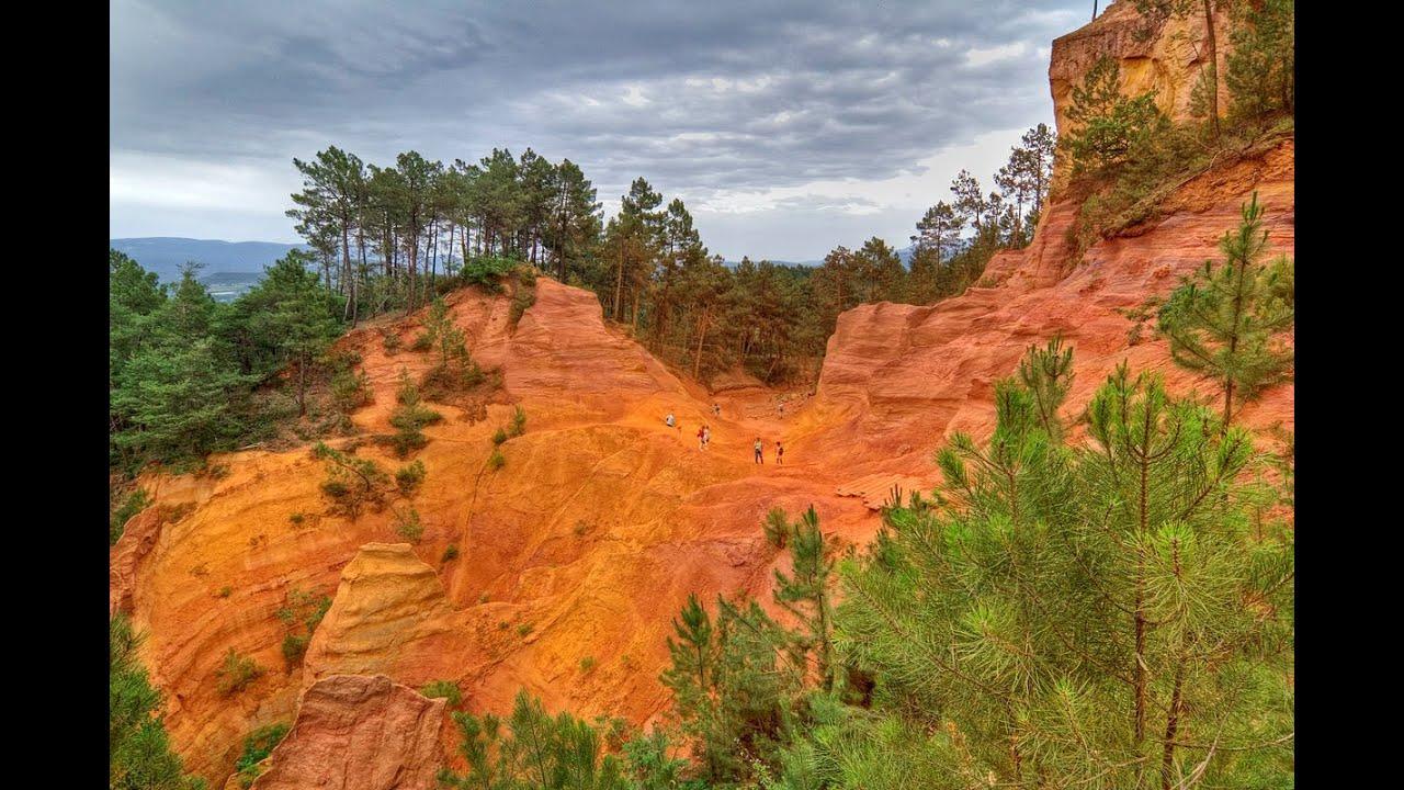 Luberon Roussillon Le Colorado Provencal Apt Lacoste Cavaillon Bonnieux Youtube