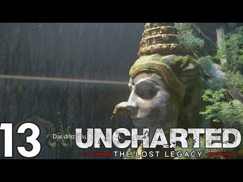 Diese Statue...  | Uncharted The Lost Legacy #13