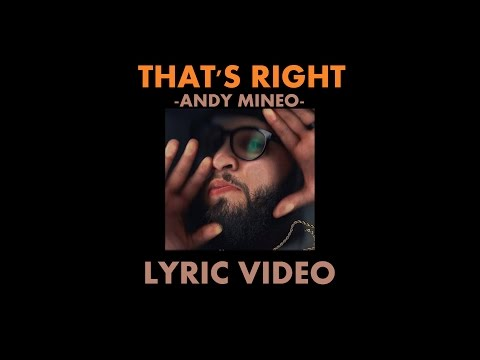 Know That's Right - Andy Mineo - LYRIC VIDEO (LIVE PERFORMANCE AUDIO)(@AndyMineo)(#Uncomfortable)