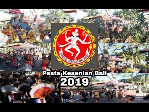 Pawai Pembukaan PKB Tahun 2019 Bersama Bapak Jokowi