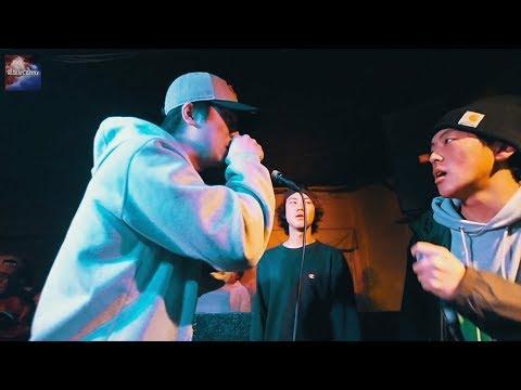 バチスタ.亞夢.pino.vs. HOWZW.ファラオ.KK.凱旋MC battle 3on3