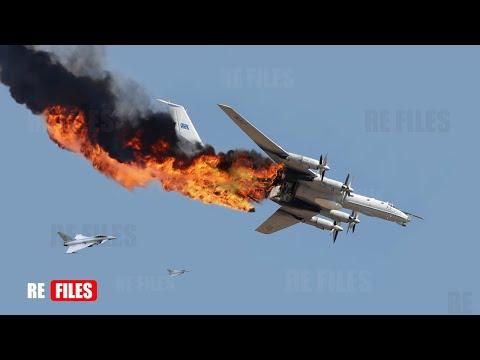 Shoot Down (Aug 26,2021) UK Typhoon jets intercept Two Russian TU-142 Over North Sea