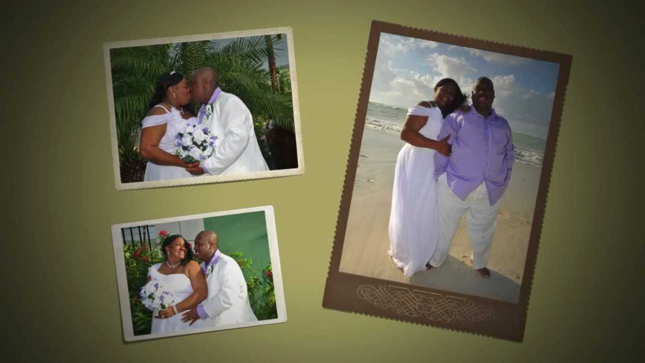 Whitfields 20th Wedding Anniversary Vow Renewal In Jamaica Sandals Montego Bay  YouTube