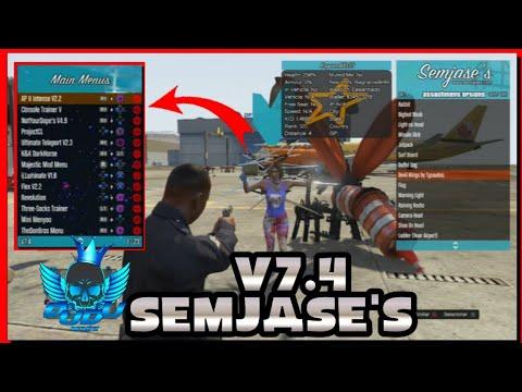 PS3 GTA5 Semjases Premium 2 5 Cracked DEX CEX *WORKING* MOD MENU 1
