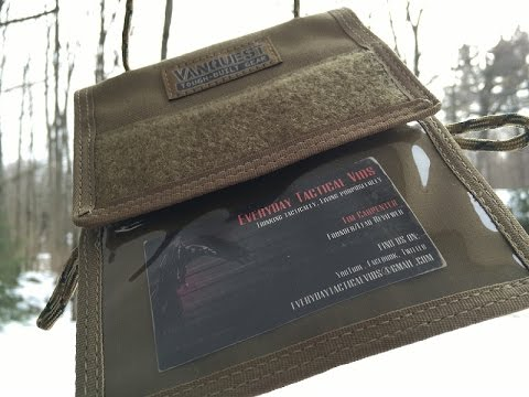 Vanquest Traverse ID Carrier With RFID Blocking Capacity: Passport, Card, ID Carrier