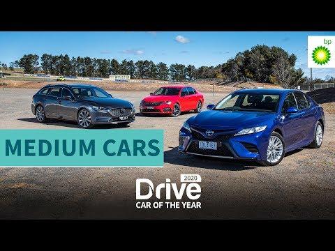 2020 Best Medium Car: Toyota Camry,  Mazda 6, Skoda Octavia | 2020 Drive Car Of The Year