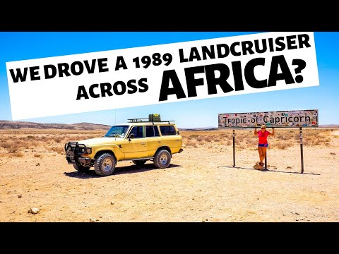 WE BOUGHT A TRUCK IN AFRICA (and drove it around the continent)