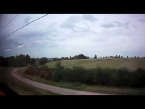 Wiesbaden to Montabaur: High Speed Views from an ICE-3 Train, Germany - 8th August, 2014