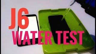 Samsung J6 water test | actually waterproof