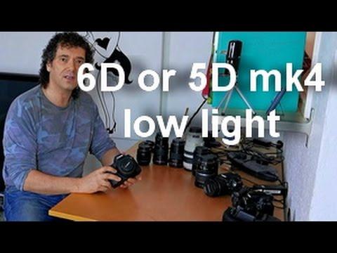 canon 6d vs 5dmk4 - low light comparison