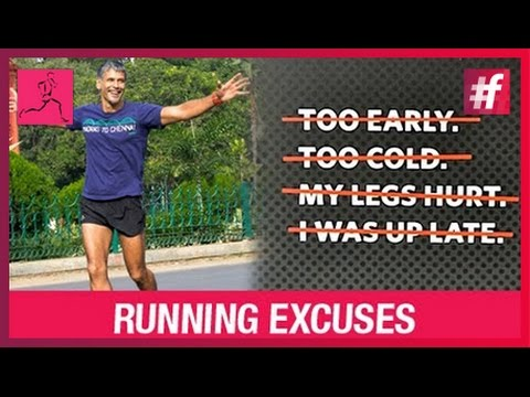 IRONMAN Milind Soman Running Tips - Lame Excuses For Not Running