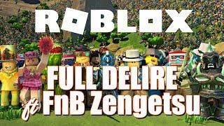 LIVE ROBLOX Différents jeux avec FnB Zengetsu et Saito Benkei