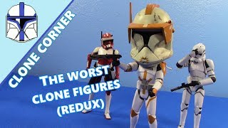 Clone Corner #16: Top 5 WORST Clone Trooper Figures REDUX