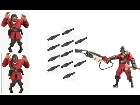 ★ TF2: Fun With Console: Airblasting Soldiers's Rockets To Kill Him In Slowmotion ►Team Fortress 2◄