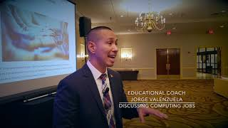 Educational Coach — Jorge Valenzuela — Discussing Computing Jobs With Educators
