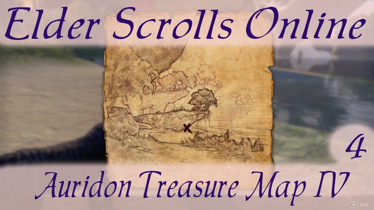 Auridon Treasure Map 4 [Elder Scrolls Online] ESO IV - YouTube