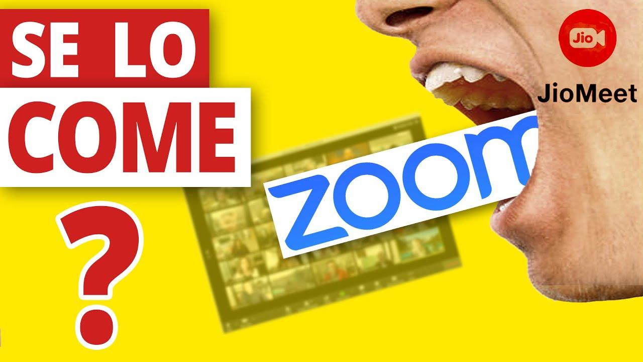 ✅ NUEVO JIOMEET ¿¿ES MEJOR que ZOOM?? (no más 40 minutos de límite) Te puede CONVENIR CAMBIARTE