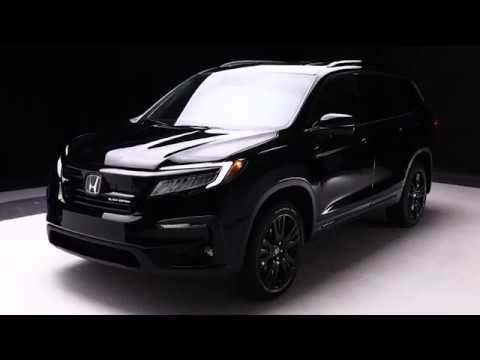 First Look The 2019 Honda Pilot Canadian Exclusive Black Edition