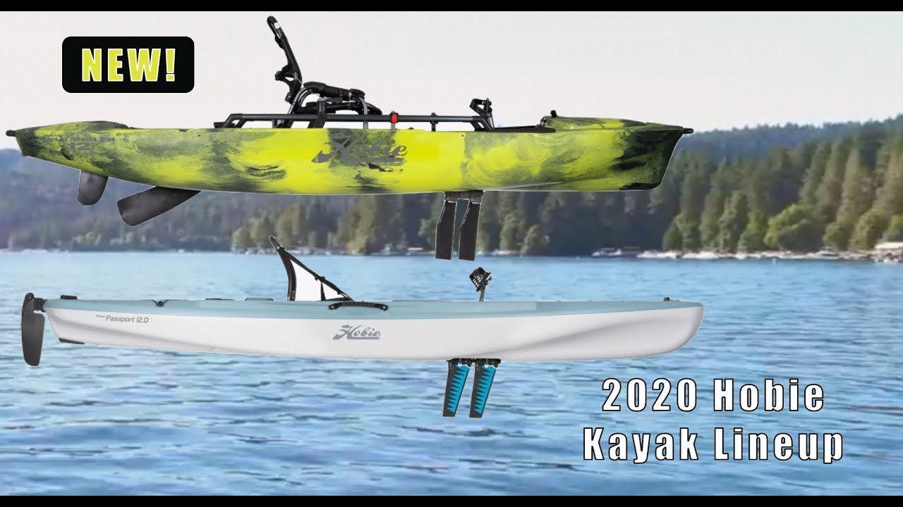 2020 Hobie Kayak Changes Updates Youtube