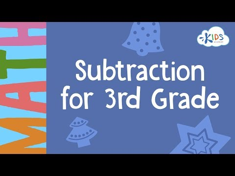 Subtraction Worksheets  3rd Grade  Math  Kids Academy