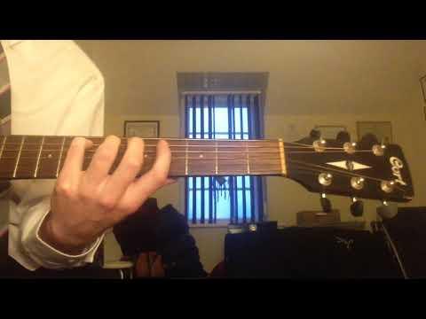 Puddle of mudd Blurry harmonics lesson