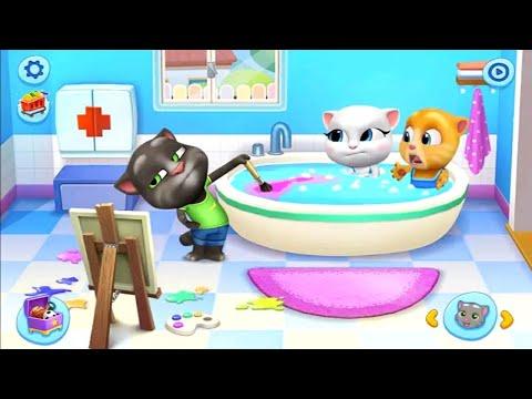 قطة الاطفال العاب اطفال توم و جيري كرتون Kids Cat Tom And Jerry Children Games Youtube