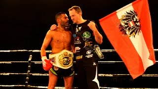Foad Sadeghi vs Marko Adamovic - ISKA WM-Fight - Fight Night Vienna