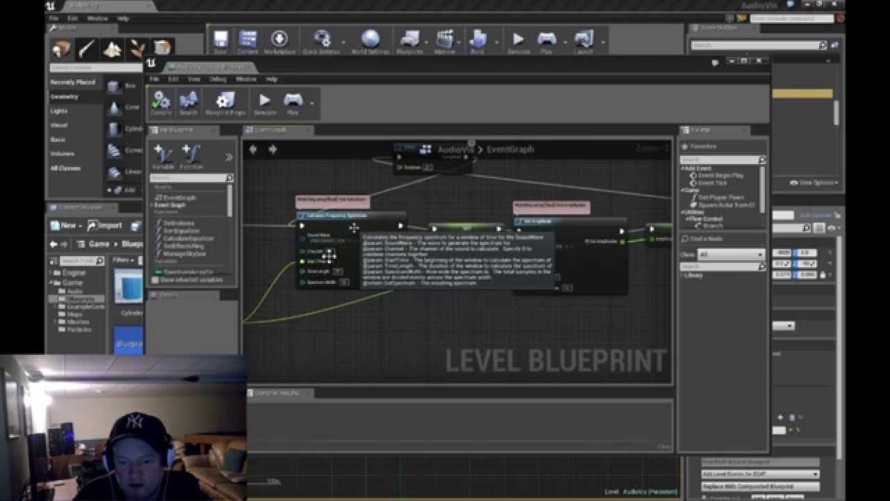 Unreal 4 audio visualization with blueprints tutorial youtube unreal 4 audio visualization with blueprints tutorial malvernweather Image collections