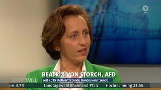Die Arroganz Der Macht? Beatrix Von Storch (AfD) - Anne Will 13.03.2016 - Bananenrepublik