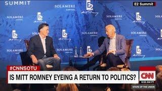 The Romneys' return to politics