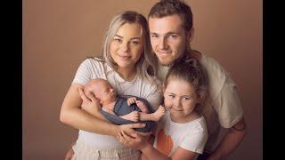 Newborn Session Video Making Of-Baby Arlo