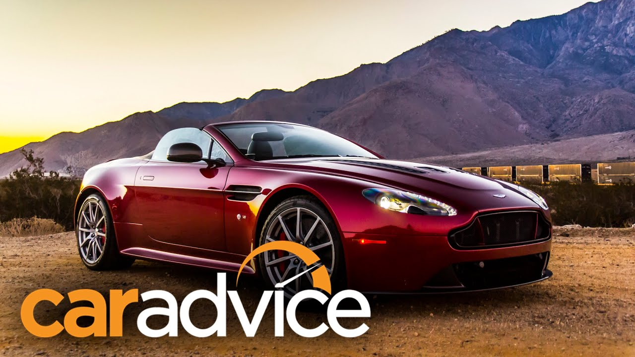 Aston Martin V Vantage S Roadster Review Palm Springs USA YouTube - Aston martin v12 vantage s price