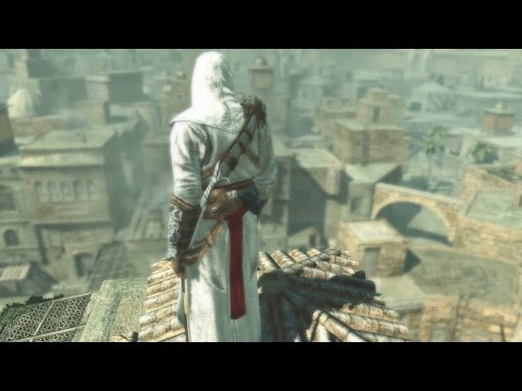 Assassin's Creed Remastered (Graphics Mod) Jerusalem Combat & Parkour in 60FPS!