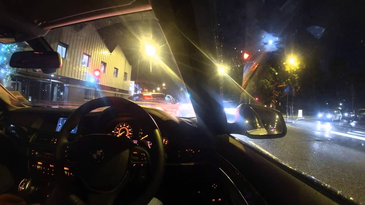 Gopro Time Lapse Night Drive In London