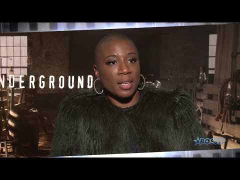 Underground's Anthony Hemingway & Aisha Hinds Talk Harriet Tubman's Debut