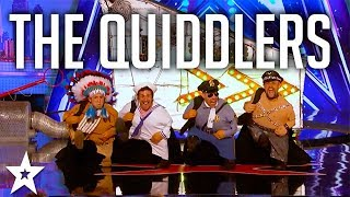 The Quiddlers Dance the YMCA on America's Got Talent 2017