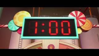 Ральф и Ванилопа готовят машину ... отрывок из мультфильма (Ральф/Wreck-It Ralph)2012