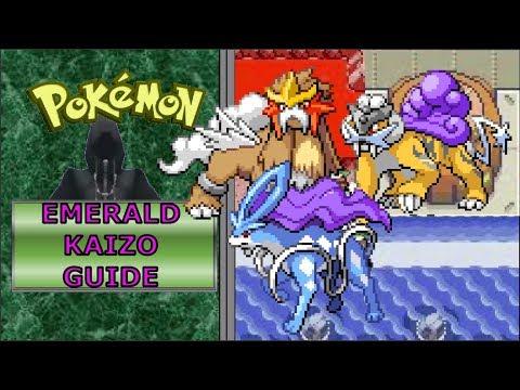 Raikou Entei Suicune | Pokemon Emerald Kaizo Guide |