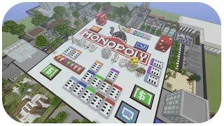 ★Minecraft: (Xbox360/XB1) NEW Monoply Hunger Games Map Full Showcase + DOWNLOAD [TU23]★