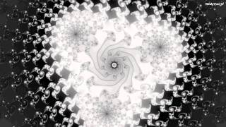 Fractal Zoom (Cubed Black And White) Raised Power Mandelbrot (720p 30fps)